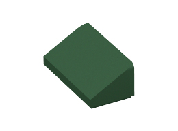 Покривна плочка 1X2x2/3  [6168574]<br><small>Roof Tile 1 X 2 X 2/3, Abs [6168574]</small>