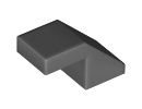 Покривна плочка 1X2/45° без пъпка [6168776]<br><small>Roof Tile 1X2/45° without knobs [6168776]</small>