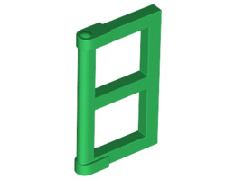 Прозорец 1/2 за рамка 1X4x3 [6171061; 6112266]<br><small>Window 1/2 For Frame 1X4x3 [6171061; 6112266]</small>
