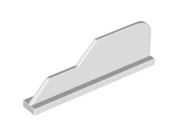 Рул 1X8 [6172423]<br><small>Rudder 1X8 W/ Shape [6172423]</small>