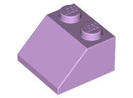 Покривна плочка 2X2/45° [6172518]<br><small>Roof Tile 2X2/45° [6172518]</small>