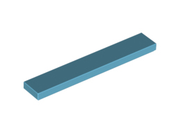 Плоска плочка 1X6 [6185309]<br><small>Flat Tile 1X6 [6185309]</small>