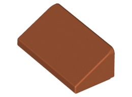 Покривна плочка 1X1x2/3 [6188477]<br><small>Roof Tile 1 X 2 X 2/3, Abs [6188477]</small>
