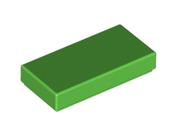 Плоска плочка 1X2 [6195258]<br><small>Flat Tile 1X2 [6195258]</small>