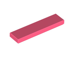 Плоска плочка 1X4 [6258570]<br><small>FLAT TILE 1X4 [6258570]</small>