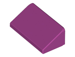 Покривна плочка 1X2x2/3  [6215168]<br><small>Roof Tile 1 X 2 X 2/3, Abs [6215168]</small>
