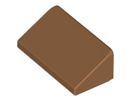 Покривна плочка 1X2X2/3 [6218358]<br><small>Roof Tile 1 X 2 X 2/3, Abs [6218358]</small>