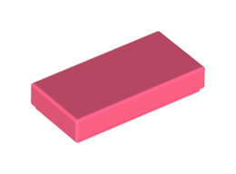 Плоска плочка 1X2 [6258566]<br><small>Flat Tile 1X2 [6258566]</small>