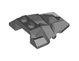 Покривна тухличка 4X4 с ъгли, No. 3 [6268373]<br><small>Roof Rock Tile, No. 3 4X4 W.Angle [6268373]</small>