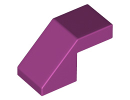 Покривна плочка 1X2/45° без пъпка [6295121]<br><small>Roof Tile 1X2/45° without knobs [6295121]</small>