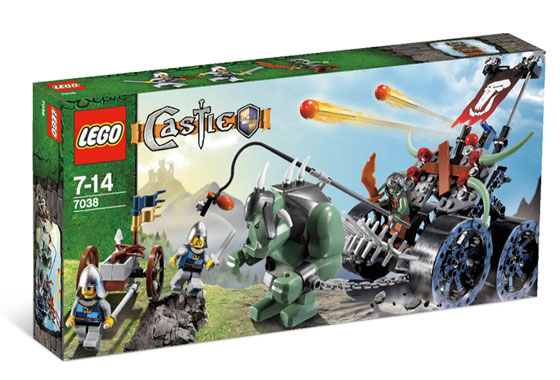 7038 ЛЕГО ЗАМЪК - Нападение <br><small>7038 LEGO CASTLE - Troll Assault Wagon</small>