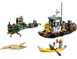 70419 ЛЕГО СКРИТА СТРАНА- Разбита лодка за скариди <br><small>70419 LEGO HIDDEN SIDE- Wrecked Shrimp Boat</small>