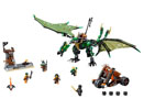 70593 Лего НИНДЖАГО - Зеления NRG дракон<br><small>70593 The Green NRG Dragon</small>