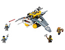 70609 ЛЕГО НИНДЖАГО ФИЛМЪТ - Бомбардировач на Манта Рей<br><small>70609 The LEGO Ninjago Movie - Manta Ray Bomber</small>