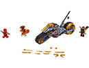 70672 ЛЕГО НИНДЖАГО - Офроуд мотоциклета на Коул<br><small>70672 LEGO NINJAGO - Cole's Dirt Bike</small>