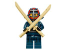 71011-12 Collectable Minifigures Series 15 - Kendo Fighter, Unsealed