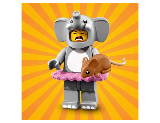 71021-01 Collectable Minifigures Series 18 - Elephant girl