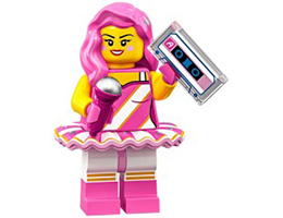 71023-11 LEGO MOVIE 2 SERIES - Candy Rapper