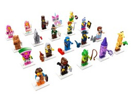 71023 Collectable Minifigures LEGO MOVIE 2 SERIES  - Complete Collection