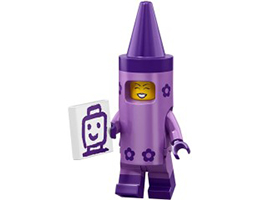 71023-05 LEGO MOVIE 2 SERIES - Crayon Girl