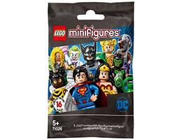 71026 Мини фигурки - Серия DC Супер Герои - случайна фигурка<br><small>71026 Collectable Minifigures Series DC Super Heroes - Random Minifigure</small>