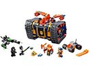 72006 ЛЕГО НЕКСО РИЦАРИ - Axl's Rolling Arsenal<br><small>72006 LEGO NEXO KNIGHTS - Axl's Rolling Arsenal</small>