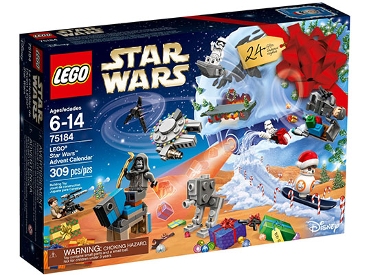 75184 ЛЕГО СТАР УОРС - Коледен Стар Уорс календар 2017<br><small>75184 LEGO STAR WARS -  Star Wars Advent Calendar 2017</small>