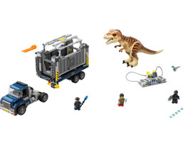 75933 ЛЕГО ДЖУРАСИК СВЯТ- Транспортиране на Тиранозавър <br><small>75933 LEGO JURASSIC WORLD - T. rex Transport </small>