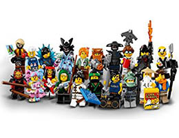 New collectable minifigures!