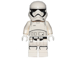SW0905 ЛЕГО Стар Уорс - Мини фигурка Стормтрупър от Първия Ред<br><small>SW0905  LEGO Star Wars - Minifigure First Order Stormtrooper (Pointed Mouth Pattern)</small>