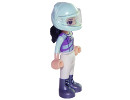 FRND261 Emma - White Trousers, Light Aqua and Medium Lavender Racing Jacket