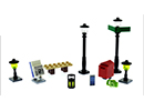 40312 ЛЕГО Улични лампи<br><small>40312 LEGO Streetlamps</small>